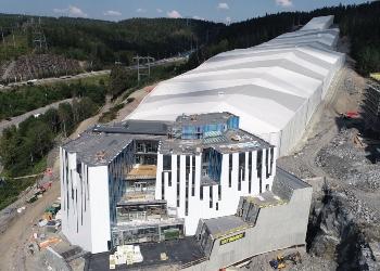 SNØ - Verdens råeste innendørs ski hall|Norske Byggeprosjekter