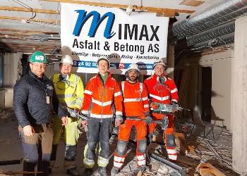 Mimax - Norges største innen kjerneboring og betongsaging