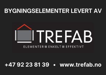 TREFAB AS – Norskproduserte elementer