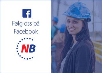 Følg Norsk byggebransje på Facebook