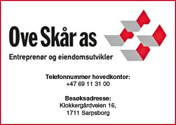 Ove Skår AS|Sparebank 1 Moss|Fredriksborg Eiendom