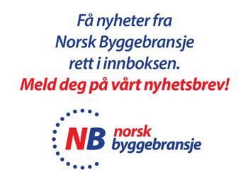 Meld deg på Norsk Byggebransjes Nyhetsbrev