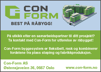 Con Form - Best på råbygg