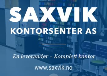 SAXVIK KONTORSENTER AS - En leverandør - Komplett kontor