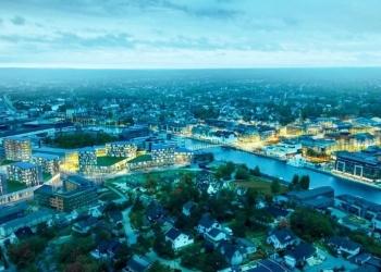 Værste forplikter seg til bærekraftige bygg i Fredrikstad