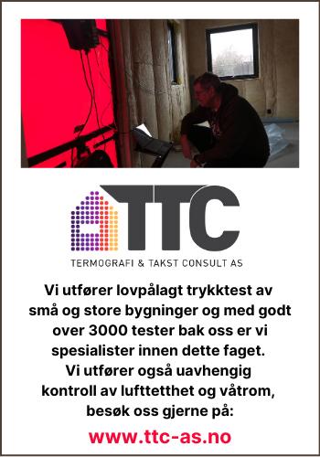 TTC – Termografi & Takstconsult AS med kompetanse til å se det øyet ikke ser