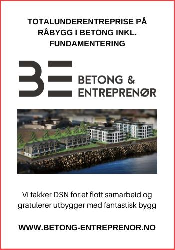 Betong Entreprenør AS|Sjøsiden Boligpark