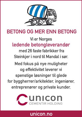 Unicon AS| Betong og mer en Betong|Norske Byggeprosjekter
