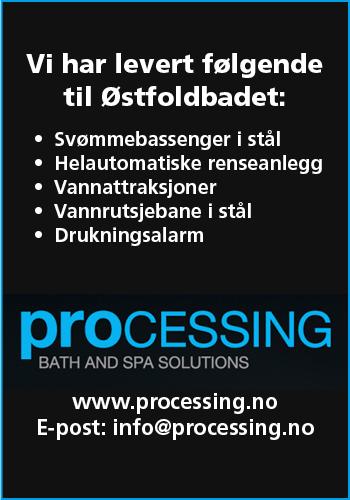 Processing Norge AS  Nordens ledende leverandør av offentlige bad & spa-anlegg
