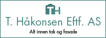 T. Håkonsen Eftf AS|tak og fasade.