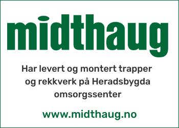 Brødrene Midthaug AS - Heradsbygda omsorgssenter