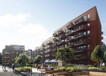 Betonmast bygger for 900 Mnok på Lørenskog