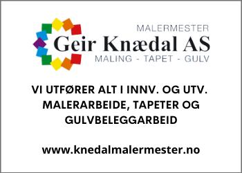 Malermester Knædal AS | Alt av malign, gul og tapet