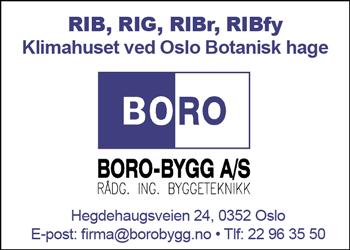 Boro Bygg AS|Klimahuset - Botanisk Hage