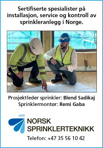 Norsk Sprinkelteknikk AS|Norske Byggeprosjekter