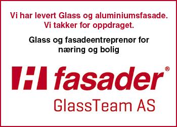 H-fasader GlassTeam As Norske Byggeprosjekter