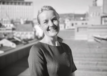 Tonje Marie Haugbro, direktør boligsalg hos Thon Eiendom