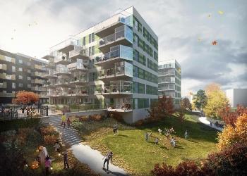 Tiedemannsbyen|Steni fasadeplater|TAG Arkitekter