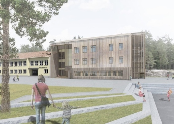 Prinsdal skole Massivtre|Norske Byggeprosjekter