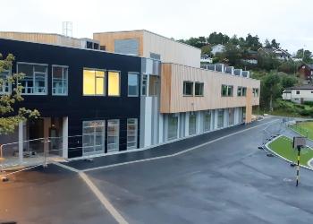 Frøysland Skole - Idrettshall|Norske Byggeprosjekter