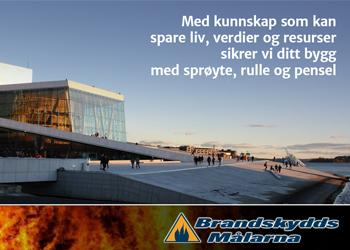 Brandskyddsmålarna|annonsering Norsk byggebransje