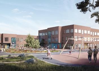 Sandnes og Bjørnvatten Skole Norske Byggeprosjekter